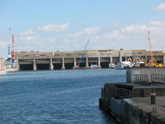 Il porto di La Pallice