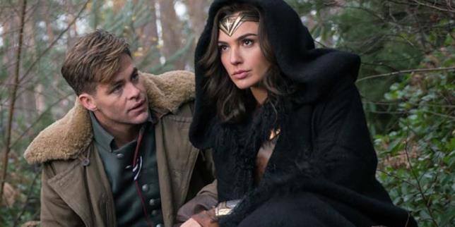 Wonder Woman, una scena con Diana e Steve