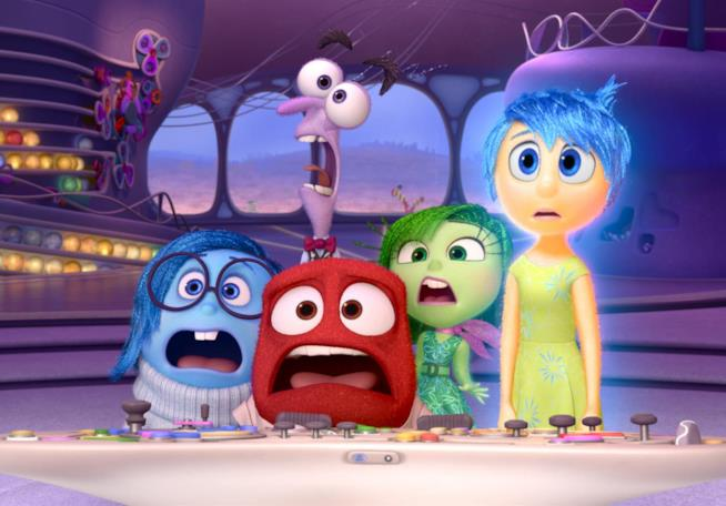 Locandina di Inside Out