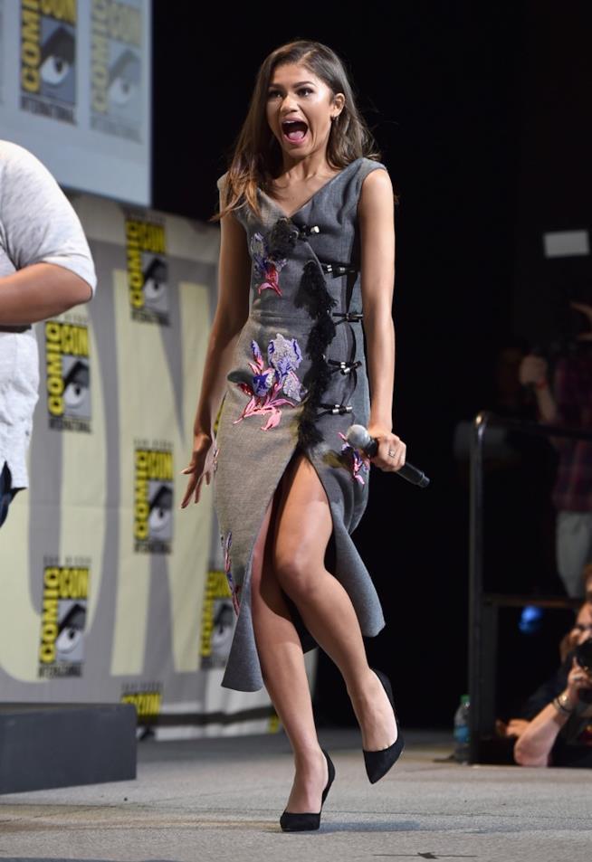 Zendaya al panel Marvel del Comic-Con di San Diego