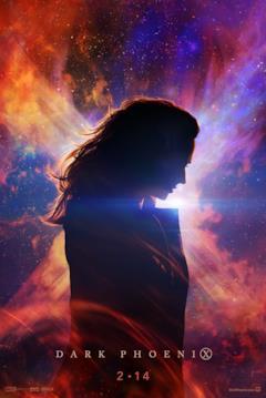 Il profilo di Jean Grey Circondato dall'energia cosmica della Fenica