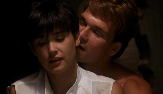 Ghost: una scena con Demi Moore e Patrick Swayze