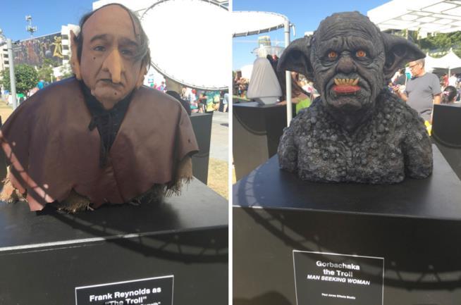 Le statue di The Troll