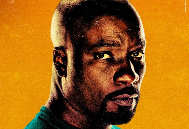 Character poster di Marvel's Luke Cage dedicato al protagonista