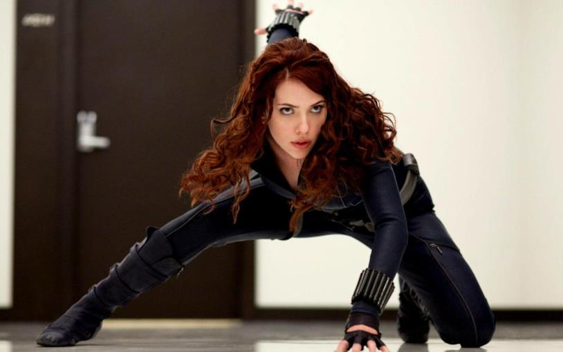 Scarlett Johansson è la Vedova Nera nell'universo Marvel