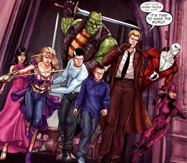 Justice League Dark, il fumetto
