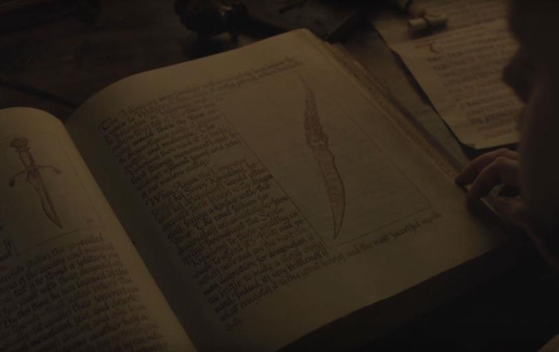 GoT 7x05: la daga neo libri della biblioteca della Cittadella