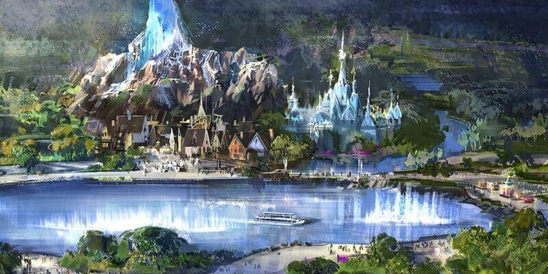 La nuova area di Disneyland Paris dedicata a Frozen