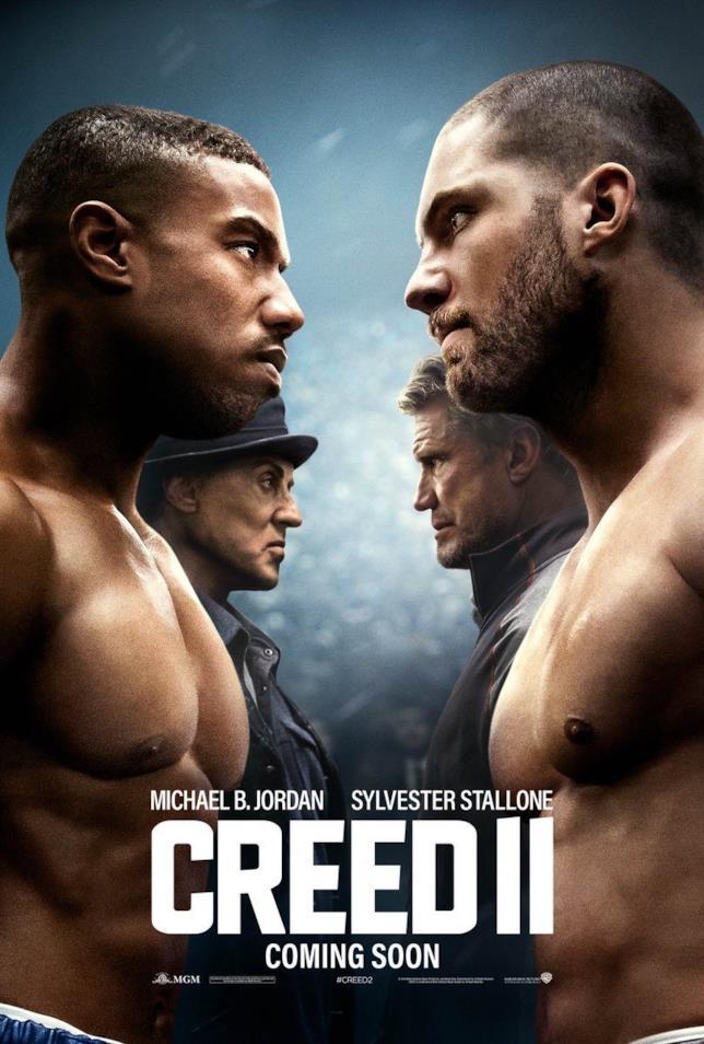 I protagonisti di Creed II nel nuovo poster del film