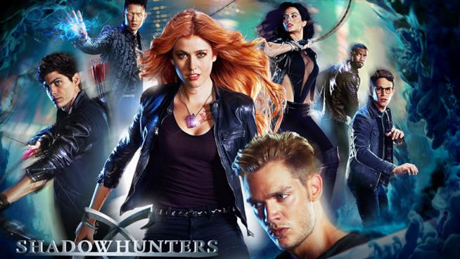 I protagonisti di Shadowhunters