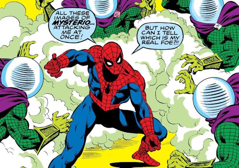 Dettaglio della cover di Amazing Spider-Man #198