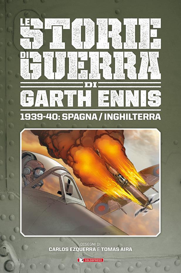 Cover di Le Storie di Guerra di Garth Ennis