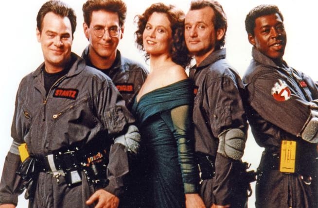 Ghostbusters 2 cast