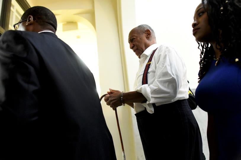 Bill Cosby in manette