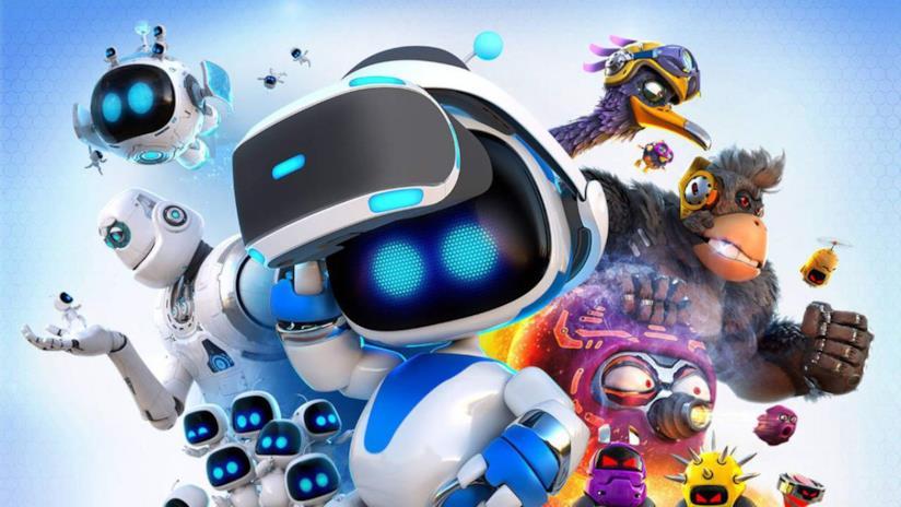 Il protagonista di Astro Bot, il maggior gioco VR per PSVR