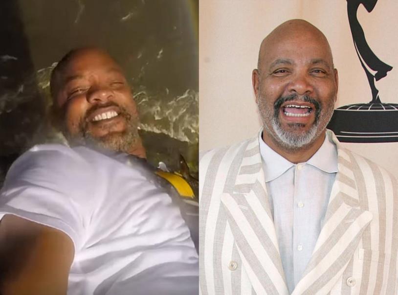 La foto di Will Smith in un collage con zio Phil