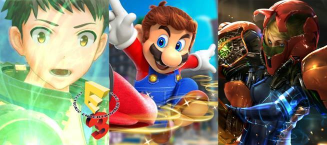 Le icone Nintendo si preparano a debuttare su Switch