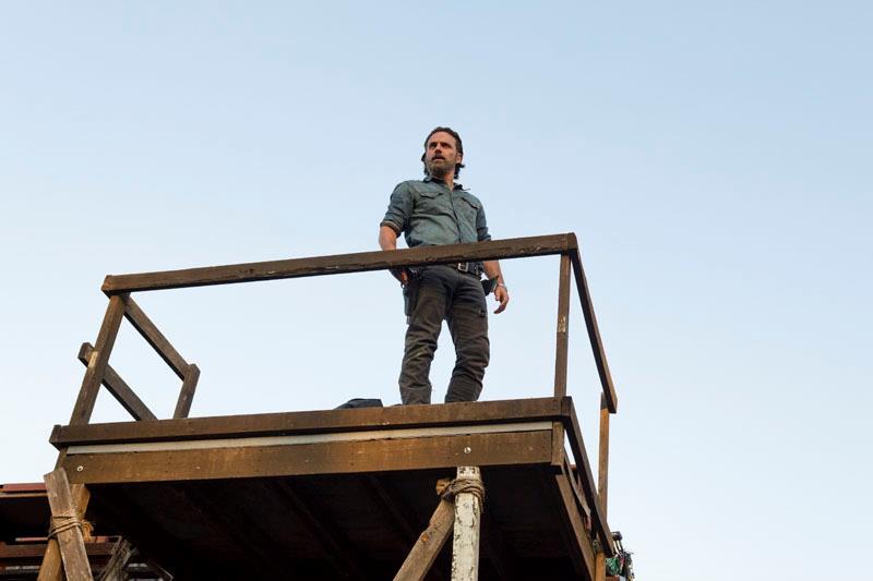 Rick Grimes nel season finale di The Walking Dead 7