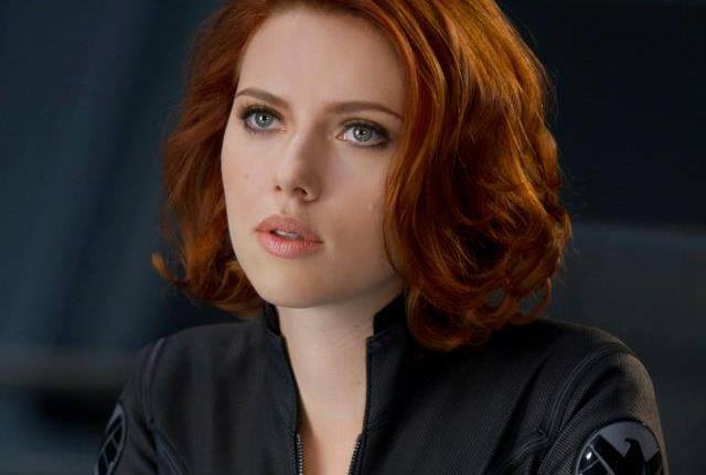 Scarlett Johansson come Vedova Nera in The Avengers