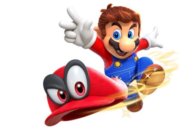 Mario lancia il compagno Cappy
