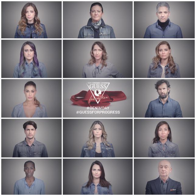 Le celebrity italiane protagoniste del video di sensibilizzazione per il Denim Day 2016
