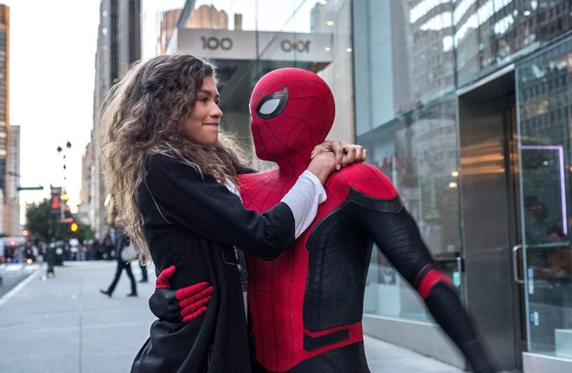 Una scena del film Spider-Man: Far from Home