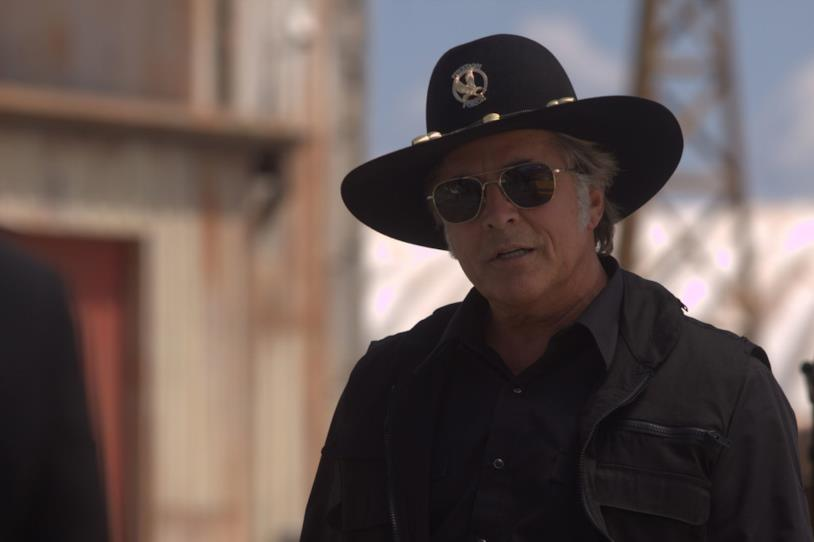 Don Johnson in una scena di Machete