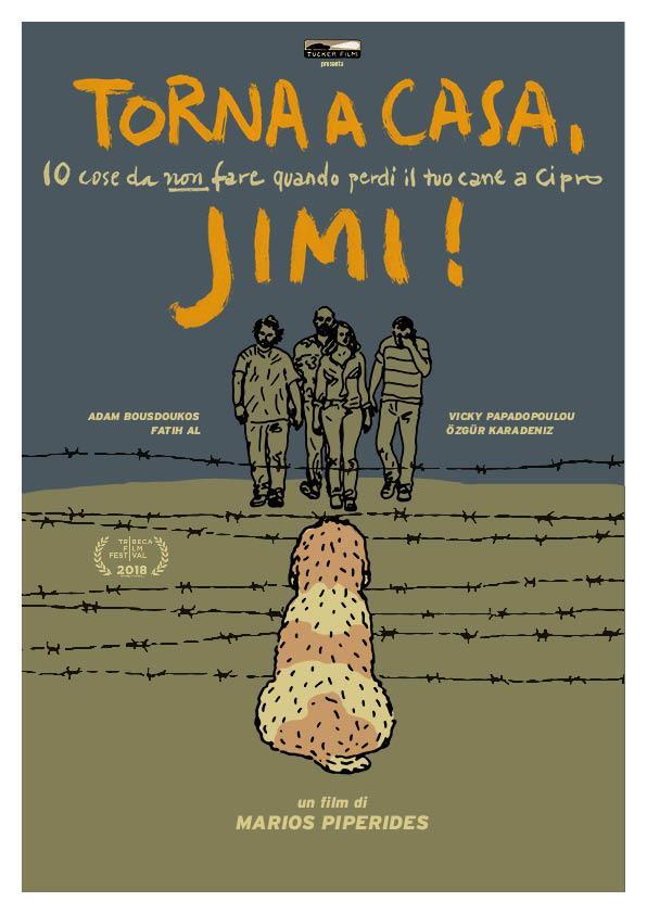 Il poster italiano della commedia Torna a casa, Jimi!