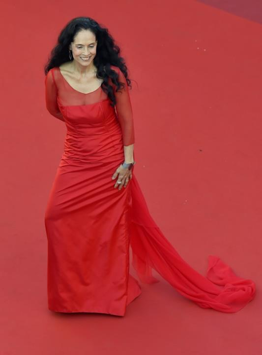 L'attrice Sonia Braga, ex compagna di Robert Redford