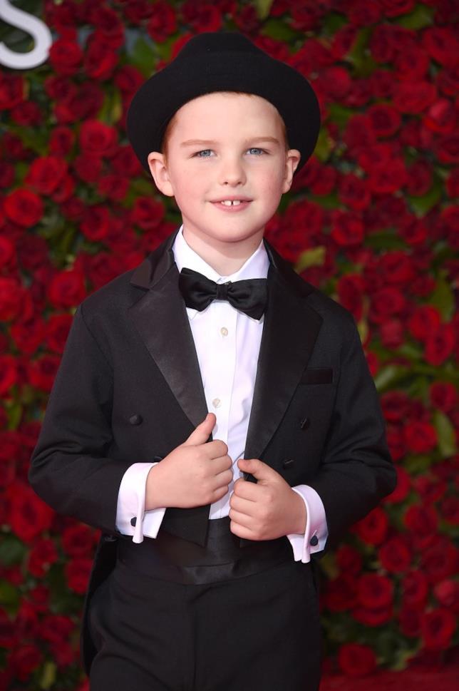 Iain Armitage si Tony Awards 2016