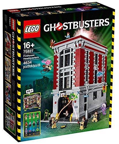 La caserma dei Ghostbusters fatta con i mattoncini LEGO
