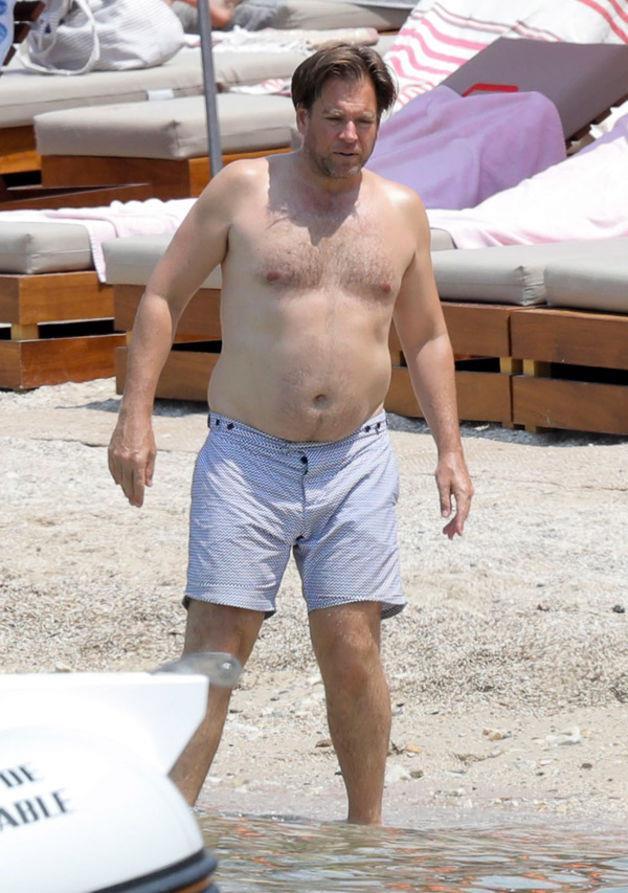 Una foto dell'attore in vacanza