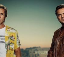 Leonardo DiCaprio e Brad Pitt nel poster ufficiale di C'era una volta a Hollywood