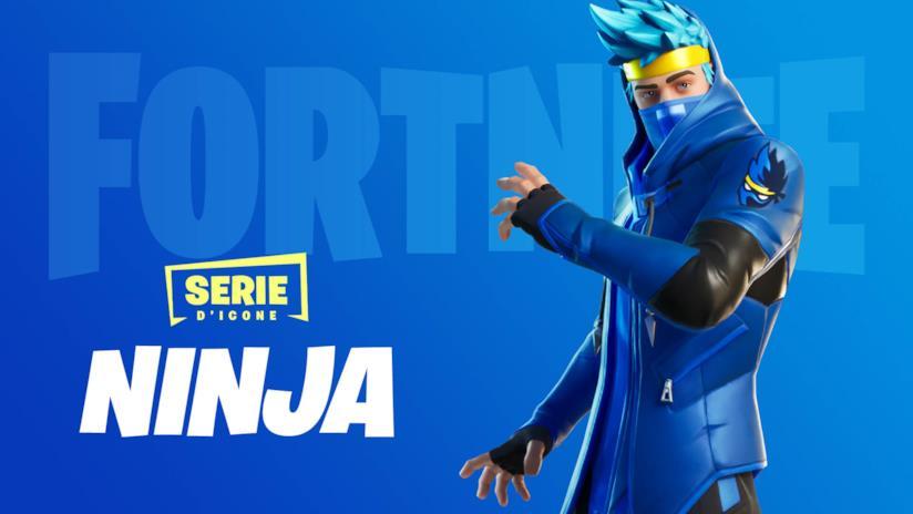 L'esclusiva skin di Ninja in Fortnite