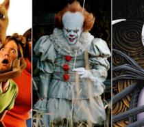Scooby-Doo, Pennywise, Jack Skellington