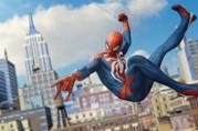 Spider-Man si dondola su PlayStation 4