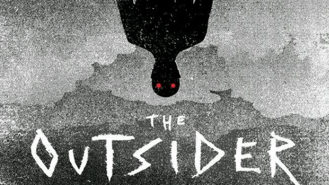 Un dettaglio della copertina di The Outsider di Stephen King