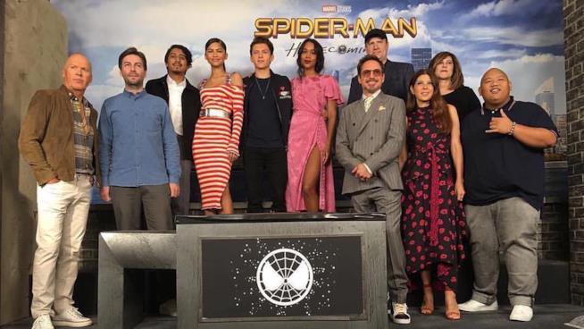 L'attesissima diretta Facebook con il regista e il cast di Spider-Man: Homecoming