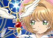 Cardcaptor Sakura: Clear Card, il poster con Sakura che regge lo scettro