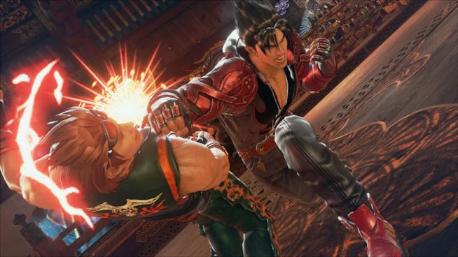 Un feroce combattimento in Tekken 7