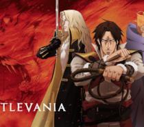 I protagonisti di Castlevania nel poster ufficiale della serie