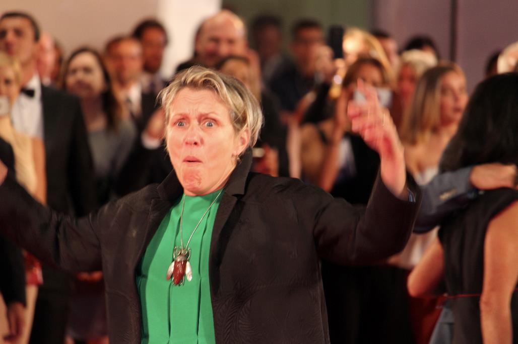 Frances McDormand è la favorita per la vittoria della Coppa Volpi