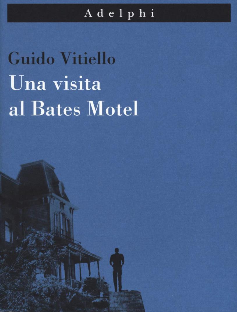 La copertina italiana di Una visita al Bates Motel