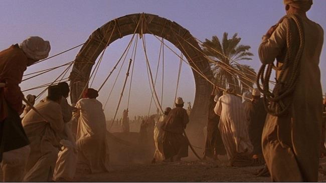 Scena del film Stargate