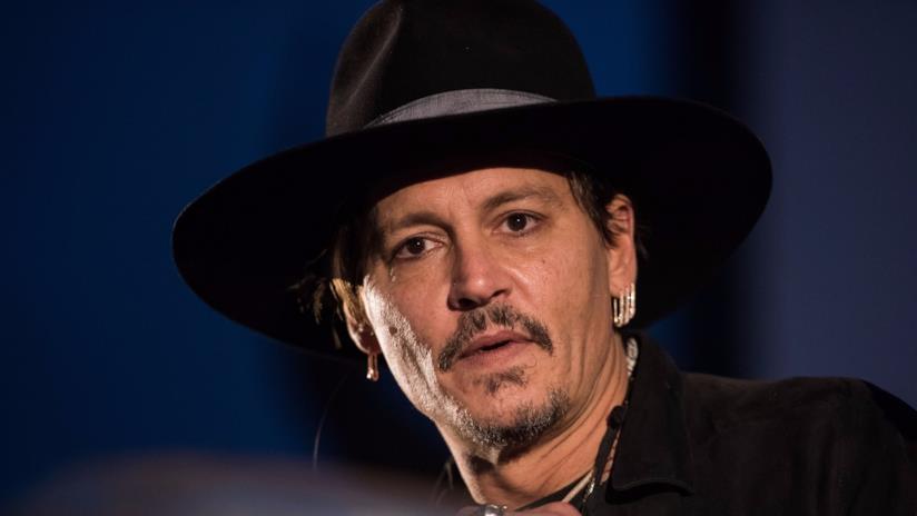 Johnny Depp al Glastonbury Festival