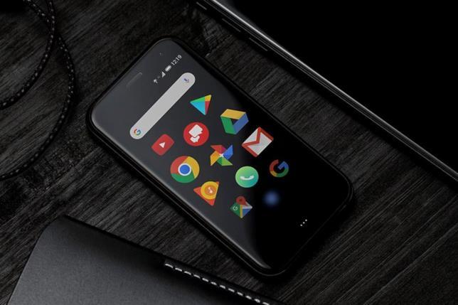 Le icone circolari dell'interfaccia di Android per Palm