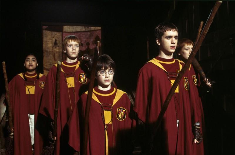 Una scena da Harry Potter