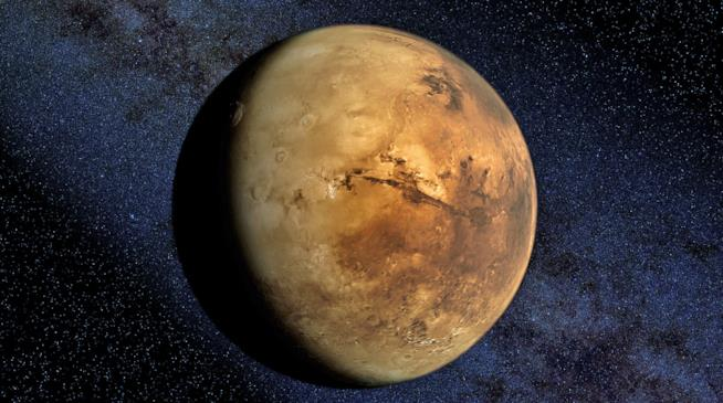 Spettacolare immagine di Marte