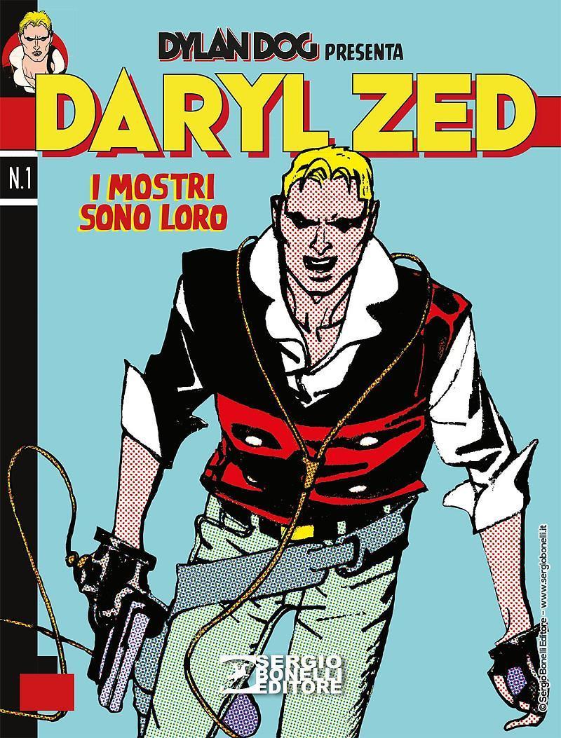 La copertina del primo numero di Daryl Zed