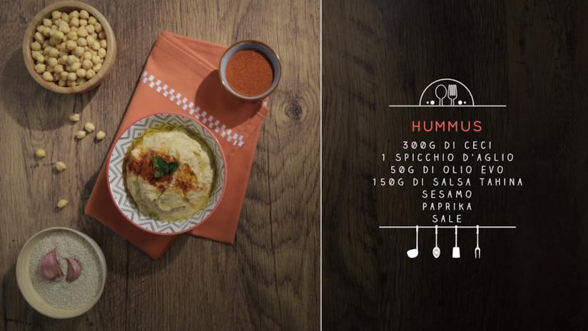 La ricetta dell'hummus